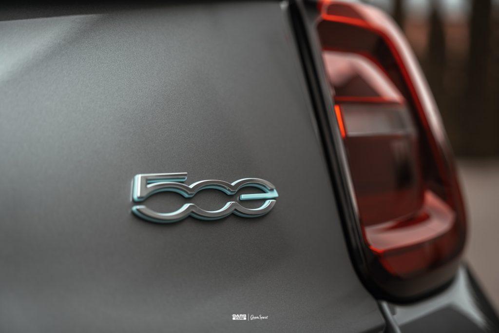 Fiat 500E - Zabezpieczenie auta bezbarwną folią ochronną - carscare.pl
