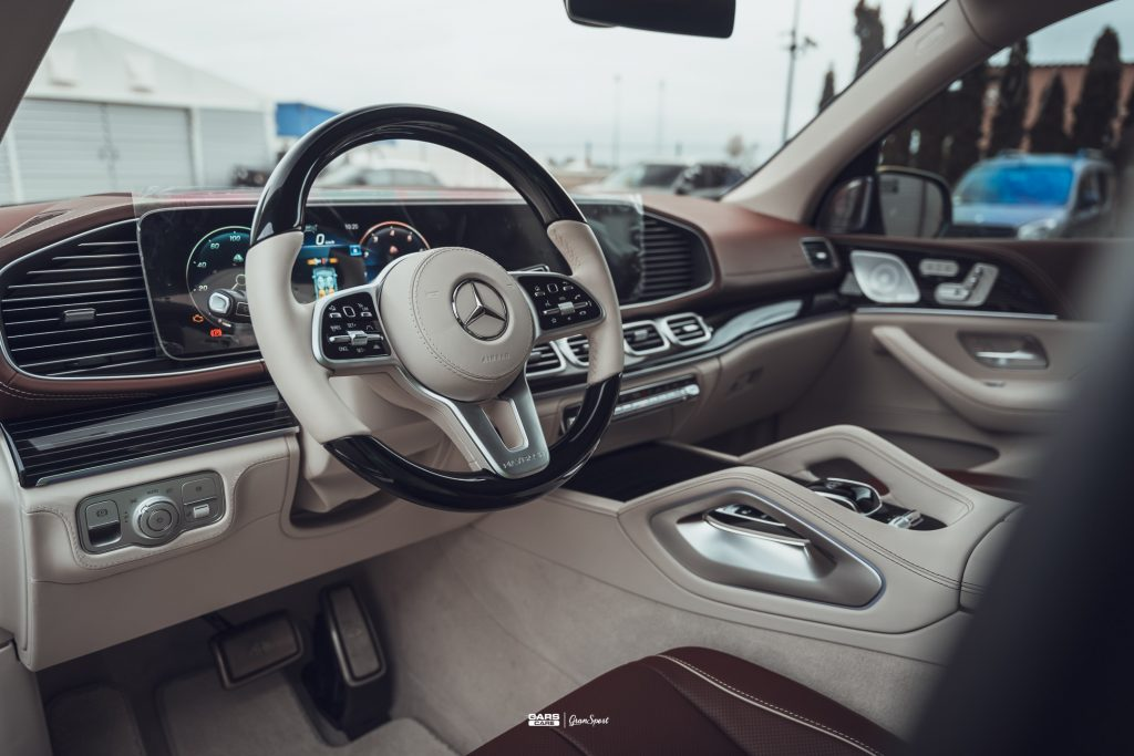 Mercedes-Maybach GLS 600 - Zabezpieczenie auta bezbarwną folią ochronną - carscare.pl