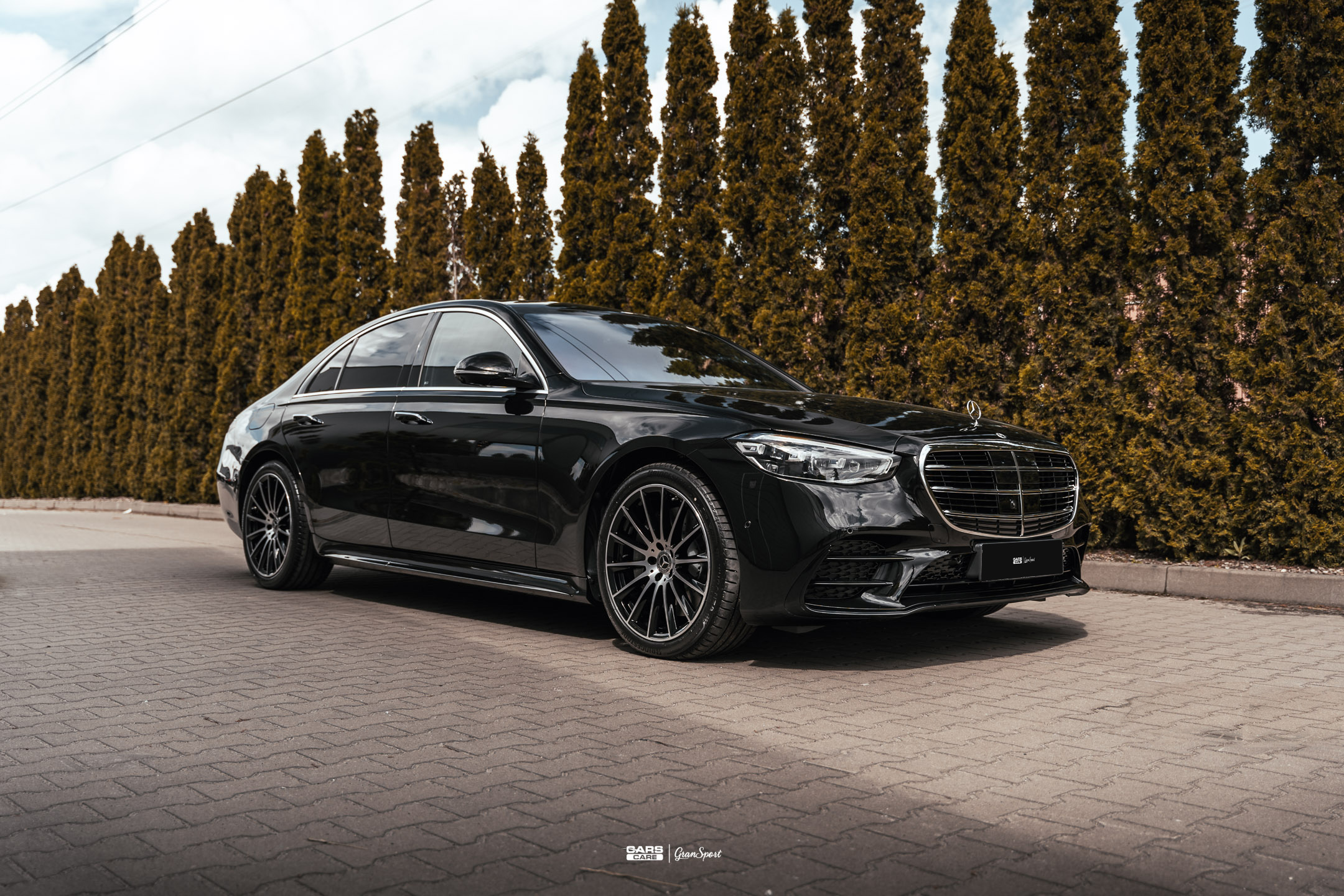 Mercedes-Benz Klasy S V223 - Zabezpieczenie auta bezbarwną folią ochronną - carscare.pl
